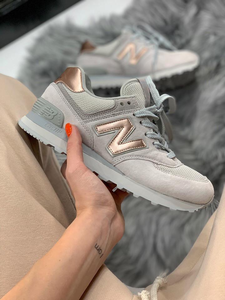 Женские кроссовки New Balance 574, Реплика