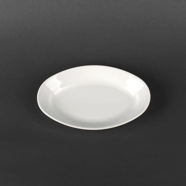 Блюдо для подачі солінь порцелянове Lubiana Kaszub 210х140 мм (1208)