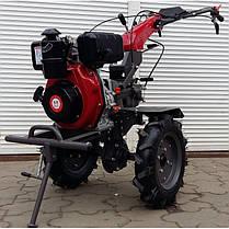 Мотоблок дизельный  WEIMA WM1100A-6 KM( 6 л.с., 4+2 скор., ручки КМ, 4.00-10), фото 2