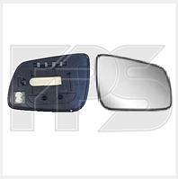 Вкладыш зеркала на Mitsubishi Lancer X левый с обогревом (Тайвань)