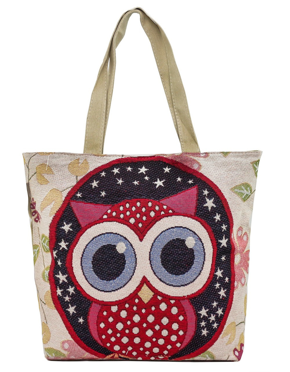 baee9b93f3a4 Пляжная тканевая сумка с принтом OK-03-85 - Arion-store - кожгалантерея