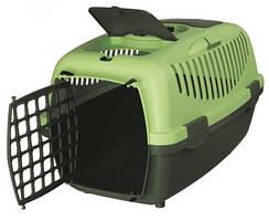 Переноска Trixie Capri 2 для собак і кішок, 37х34х55 см Зелена (39824)