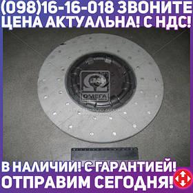 ⭐⭐⭐⭐⭐ Диск сцепления ведомый МАЗ 4370 (производство  ТМЗ, г.Тюмень)  245-1601130