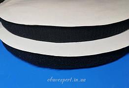 Лента контактная (липучка), 20 мм, цв. Черный
