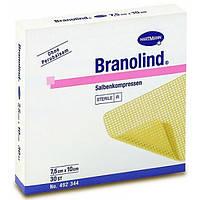 Hartmann Мазевая повязка Бранолинд 7,5x10 см