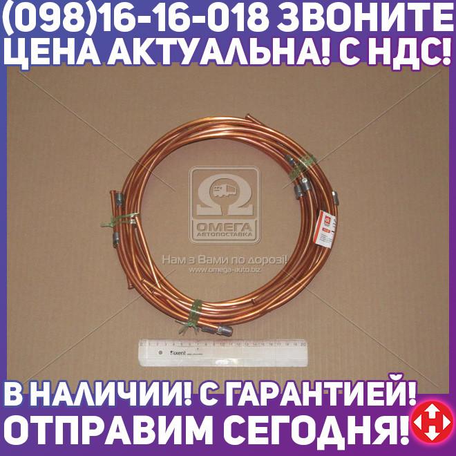 ⭐⭐⭐⭐⭐ Трубка тормозная ГАЗ 53 комплект 8 трубок (медн.) (Дорожная Карта) DK-3504