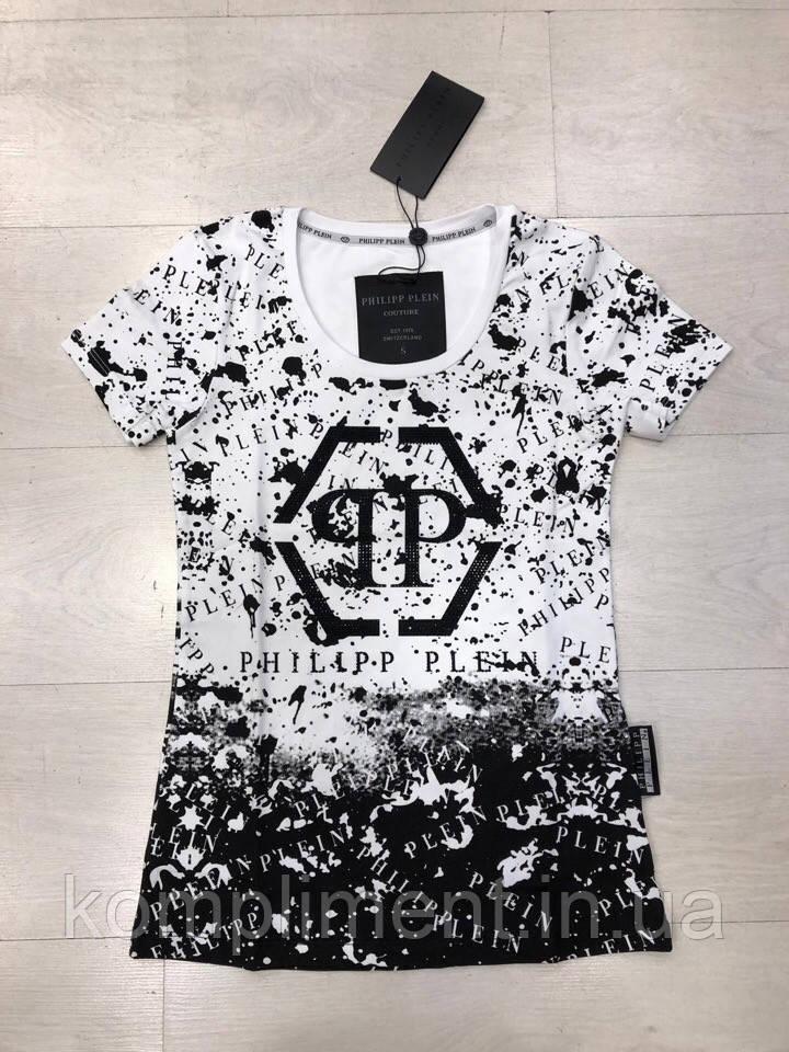 Модная летняя женская турецкая футболка , FL 1084