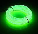 Гибкий светодиодный неон - 3м ленты, толщина 2.3мм на батарейках 2 AA, фото 5