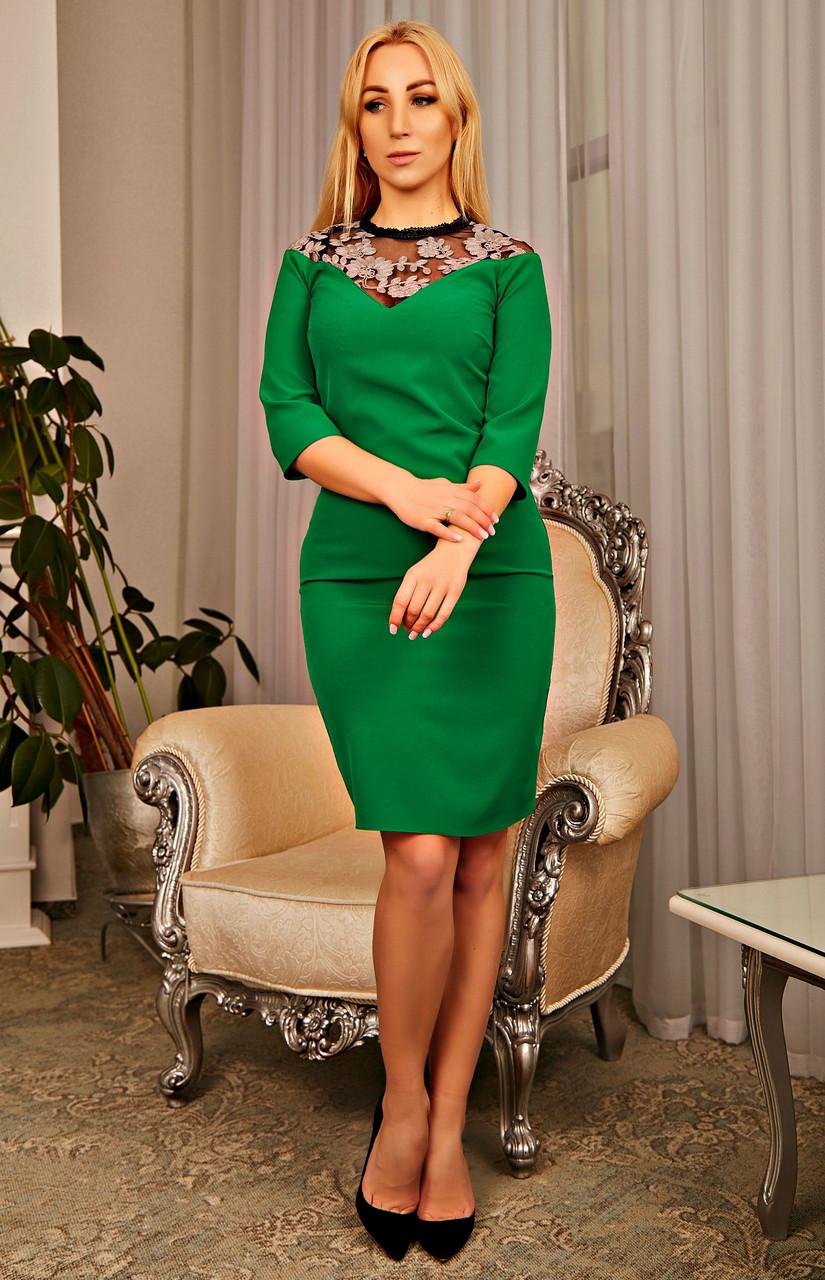 Коктейльное женское платье
