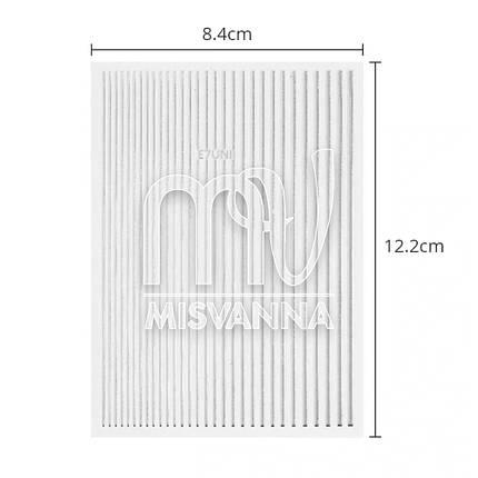 Гибкая лента для декора MIX серебро, фото 2