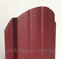 Штакетник матовый 2х ст. 3005 105мм 115мм евроштакетник штакет, фото 3