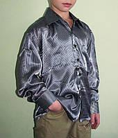Подростковая детская рубашка на мальчика