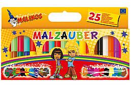 Фломастеры волшебные меняющие цвет Malinos Malzauber 12+9+4 шт