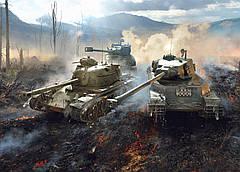 Картина GeekLand World of Tanks Мир танков постер 60х40 WT 09.002