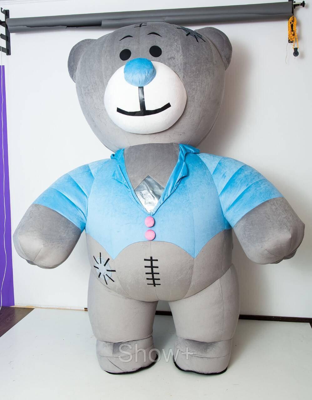 Ростовая кукла мишка Тедди мальчик