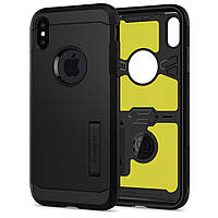 Чехол Spigen для iPhone XS Max Tough Armor XP, Black (065CS25625), фото 1