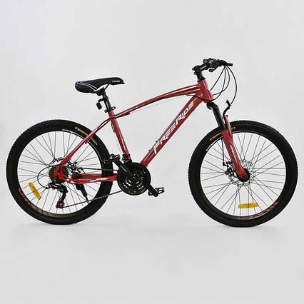 "Велосипед Спортивный CORSO 24""дюйма 0012 - 701 RED-WHITE Free Ride"