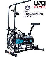 Орбитрек Air bike USA Style, синий, XXX501 Черно-синий
