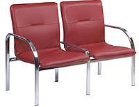 Кресло для ожидания Staff -2 Chrome ТМ Новый Стиль