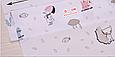 Сатин (хлопковая ткань) котики, собачки с зонтиками, фото 2