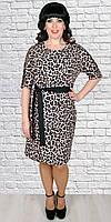 Батальное платье с леопардовым принтом , фото 1