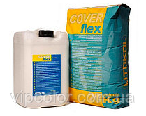 Цементная двухкомпонентная эластичная смесь COVERFLEX A+B CVF0020 30 кг