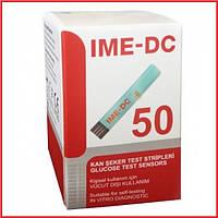 Тест-полоски для глюкометра IME-DC, 50 шт. тест полоски