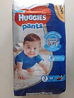 Хагіс Pants підгузники-труси дитячі 3/44шт Хлопчик (6-11кг)