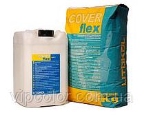 Эластичная смесь для гидроизоляции COVERFLEX A CVF0010 10 кг Компонент А отдельно