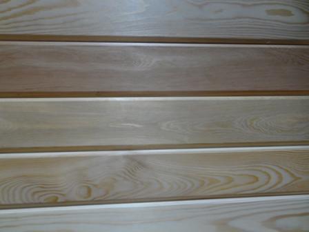 Вагонка Штиль 14х80х3000 Высший  Сибирская Лиственница, деревянная