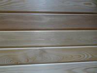 Вагонка Штиль 14х80х3000 Высший  Сибирская Лиственница, деревянная, фото 1