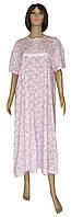 NEW! Классические женские ночные рубашки из хлопка - серия Klassika Pink ТМ УКРТРИКОТАЖ!