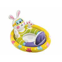 Надувной плотик-райдер детский Intex 59570 Зайчик