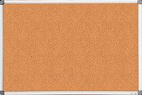 Доска пробковая, 60x90см, алюминиевая рамка
