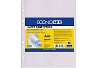 """Файл для документів А4+Economix, 40 мкм, фактура """"глянець"""" (100 шт./уп.) E31107"""