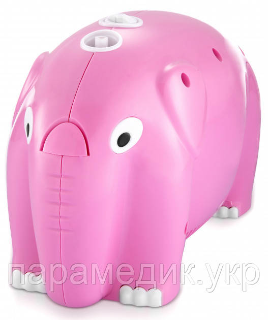 Ингалятор - небулайзер LONGEVITA CNB69012 Pink, компрессорный