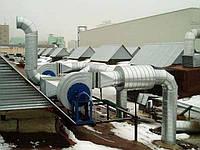 Монтаж систем вентиляции, кондиционирования, отопления