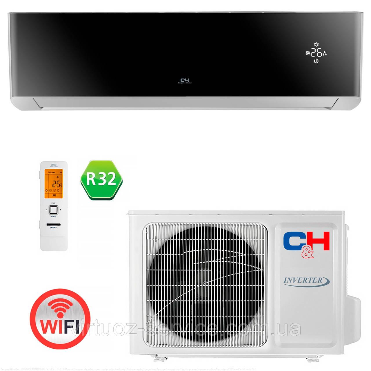 Інверторний кондиціонер Cooper&Hunter CH-S24FTXAM2S-BL Wi-Fi