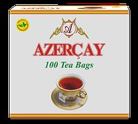 """Чай """"Азерчай"""" черный с ароматом Бергамота,100 ф/п"""