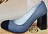 Туфли женские на каблуке от производителя модель КЛ9078, фото 2