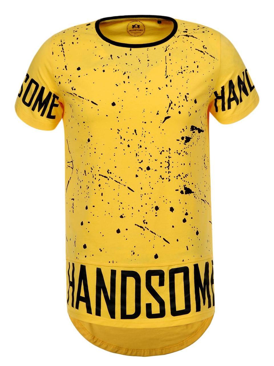 Оригинальная Футболка мужская S19 MPO-8274 Yellow
