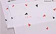 Сатин (бавовняна тканина) трикутник (компаньйон до середнього фламінго), фото 2