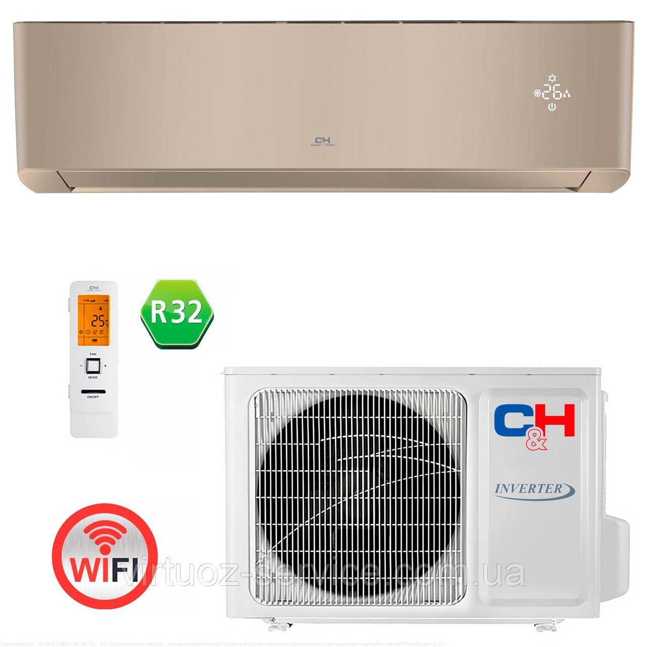 Инверторный кондиционер Cooper&Hunter CH-S18FTXAM2S-GD Wi-Fi