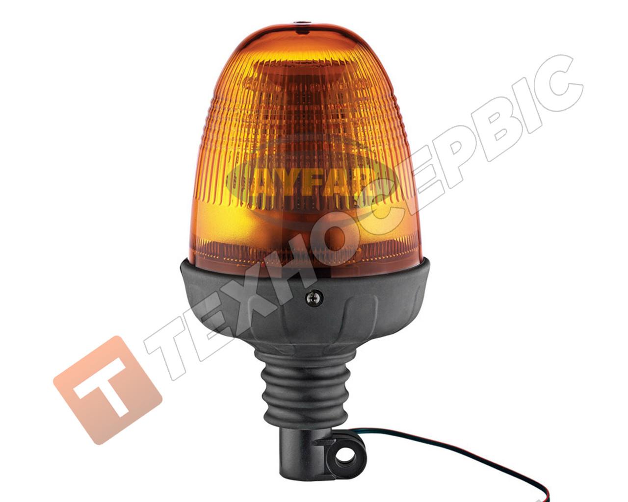Маячок проблесковый оранжевый LED под шток Турция TR 518-6