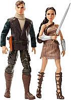 Набор Коллекционных кукол Barbie Стив Тревор и Чудо Жещина на шарнирах (FFB34)