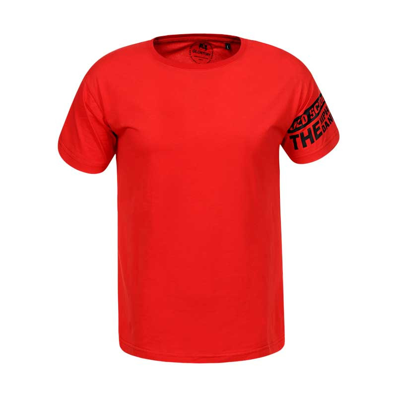 Оригинальная Футболка мужская S19 MPO-8273 Red