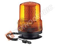 Маячок проблесковый оранжевый LED на магните Турция TR 502-19, 12 - 24 в