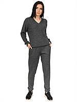 Женский вязаный костюм брюки и кофта в расцветках 42-44-46
