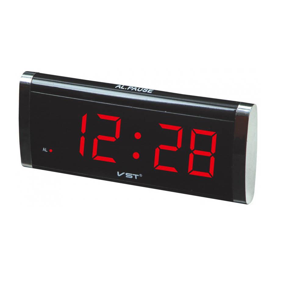 304119f9 Часы сетевые VST 730-1 красная подсветка часы настольные часы будильник электронные  часы