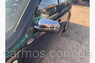 Накладки на зеркала Volkswagen Golf 4 (Гольф 4) пластик. Турция